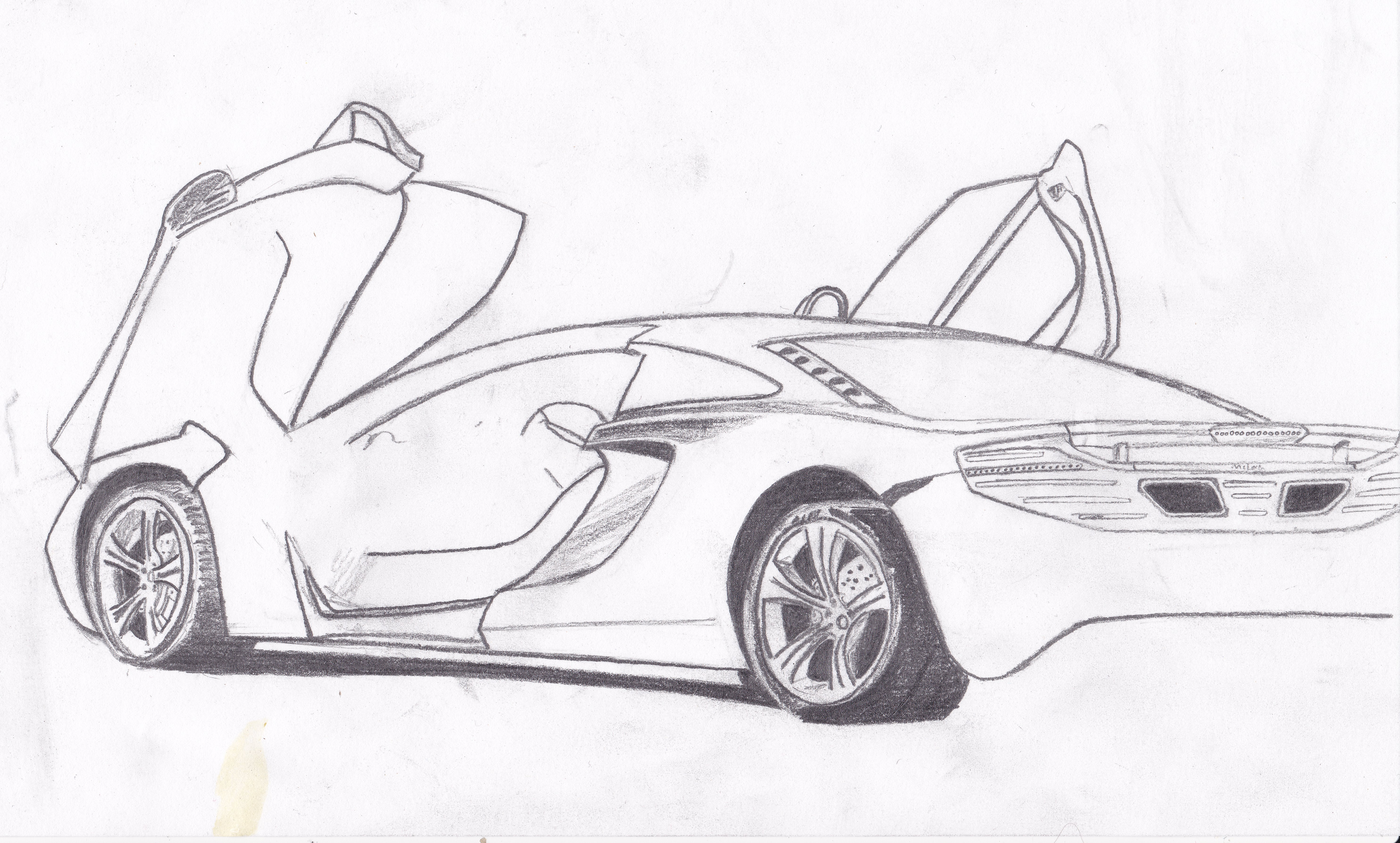 A Few Of Sol S Recent Car Drawings All You Need Is Love