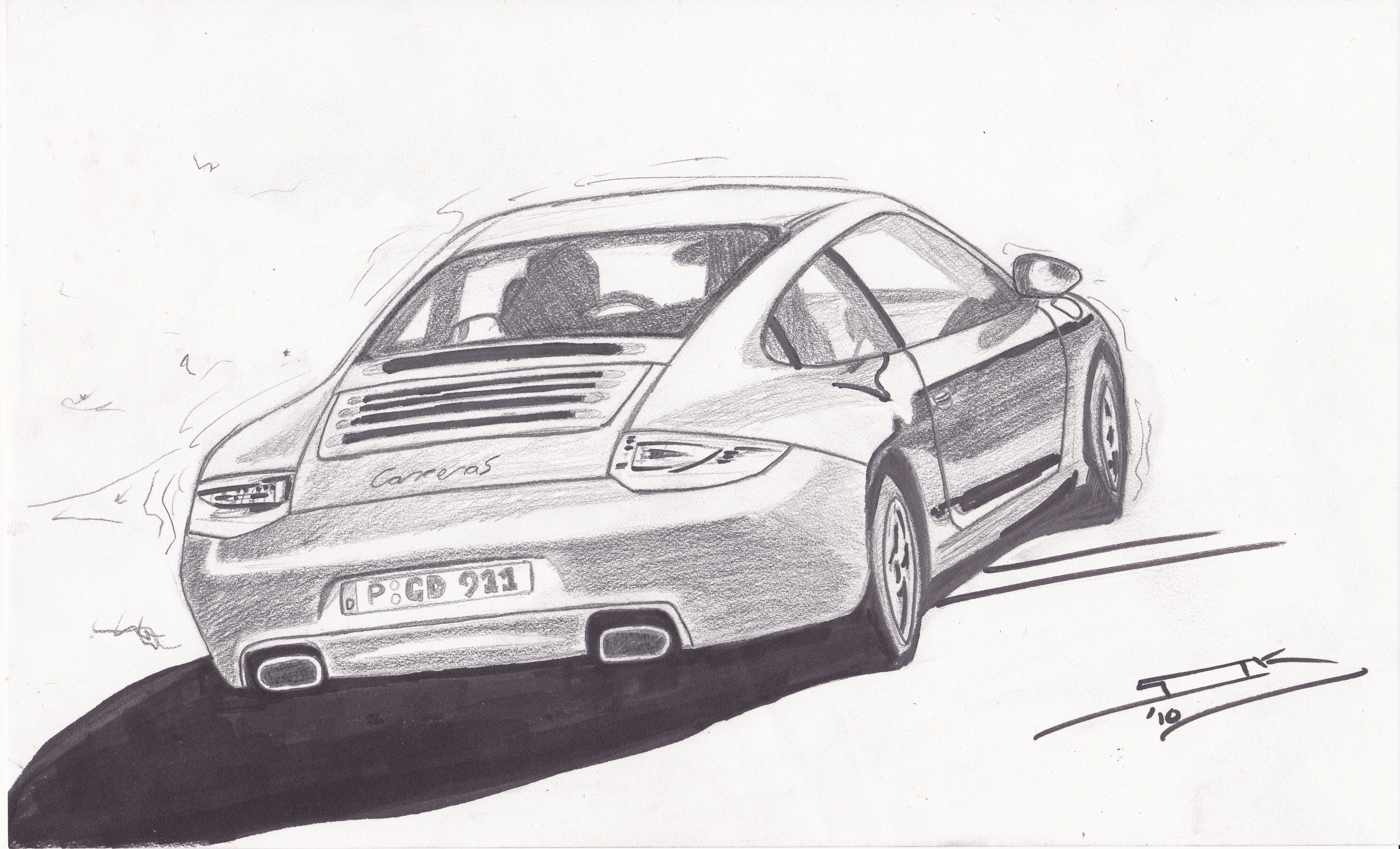 A few of Sol\'s recent car drawings | all you need is love.