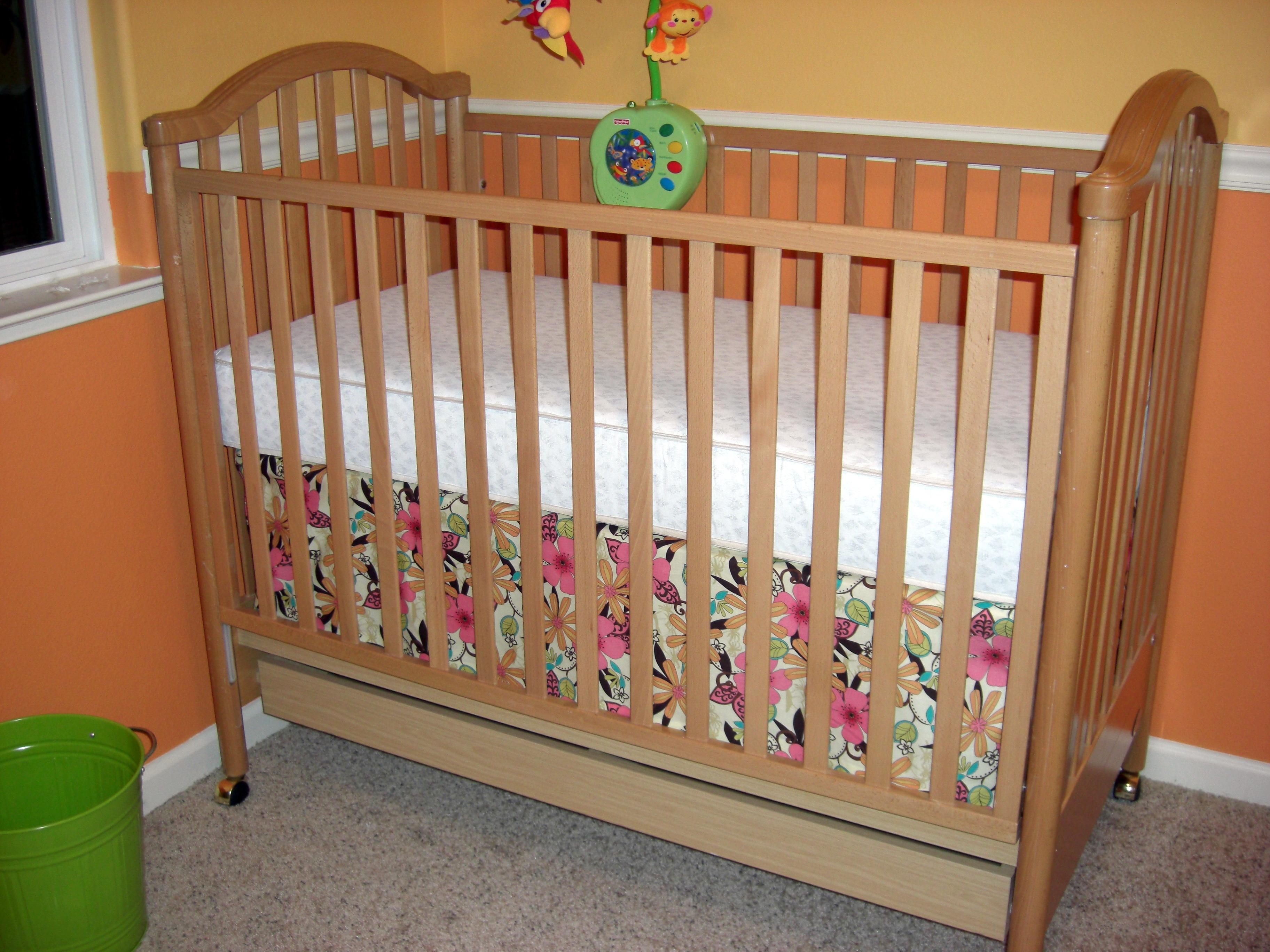 Nursery Progress No Sew Crib Skirt All You Need Is Love
